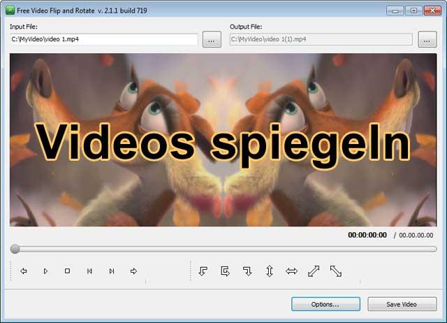 Videos spiegeln