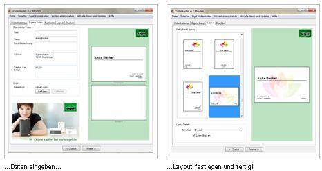 Visitenkarten In Wenigen Minuten Erstellen Software