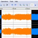 Wave Editor für die Bearbeitung von Audiodateien