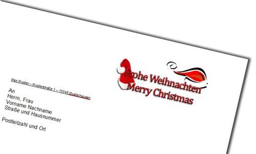 Weihnachten Briefpapier Vorlage Für Word Kostenlos Runterladen