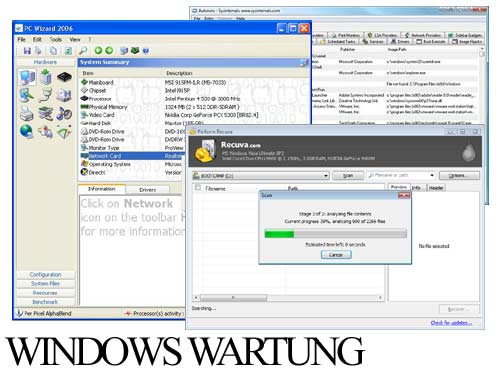 Windows Wartung