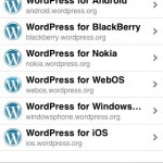 Wordpress Blog mit dem iPhone verwalten – gratis Download