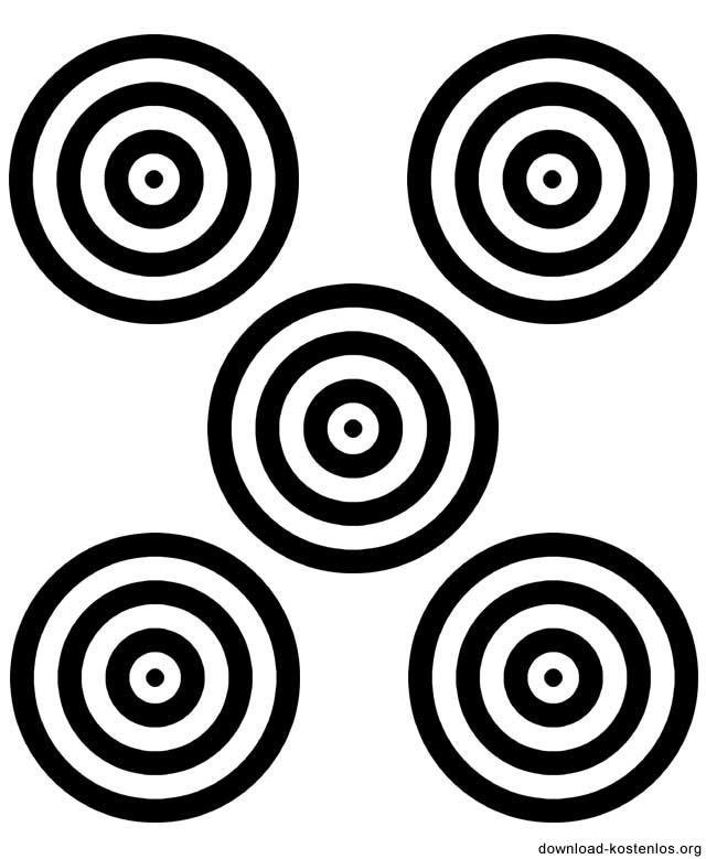 Zielscheiben ausdrucken