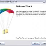 Freeware um eine ZIP Datei reparieren zu können